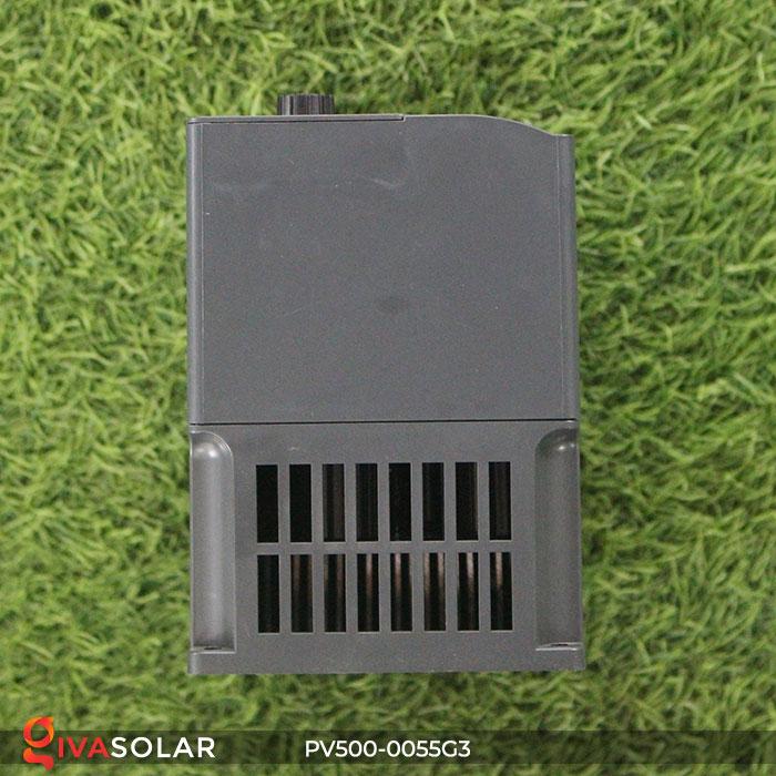 Inverter hệ thống bơm nước điện mặt trời PV500-0055G3 5.5KW 4