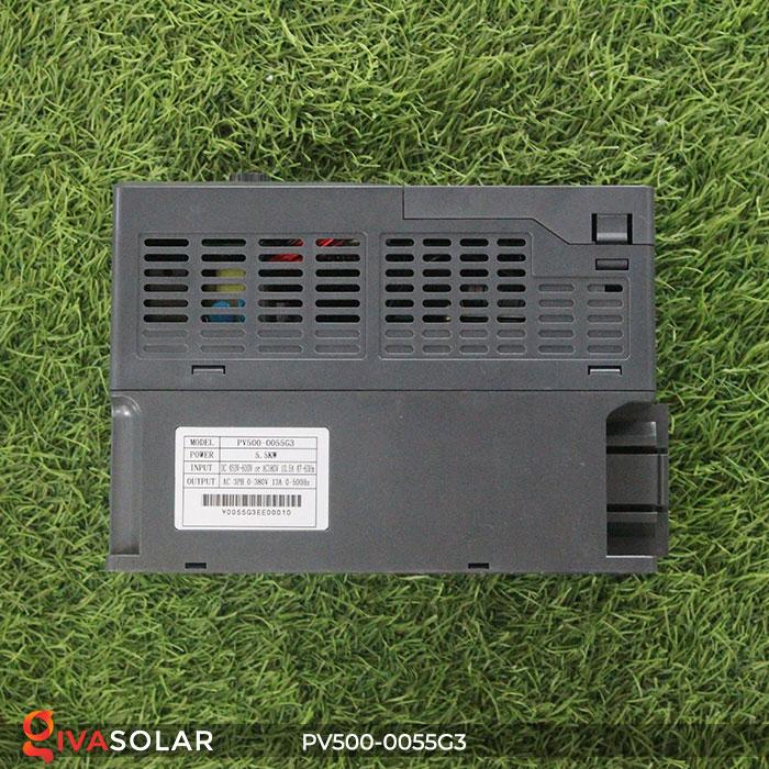 Inverter hệ thống bơm nước điện mặt trời PV500-0055G3 5.5KW 5