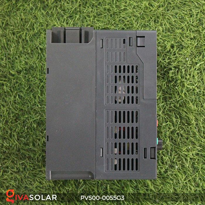 Inverter hệ thống bơm nước điện mặt trời PV500-0055G3 5.5KW 6