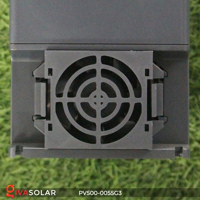 Inverter hệ thống bơm nước điện mặt trời PV500-0055G3 5.5KW 9