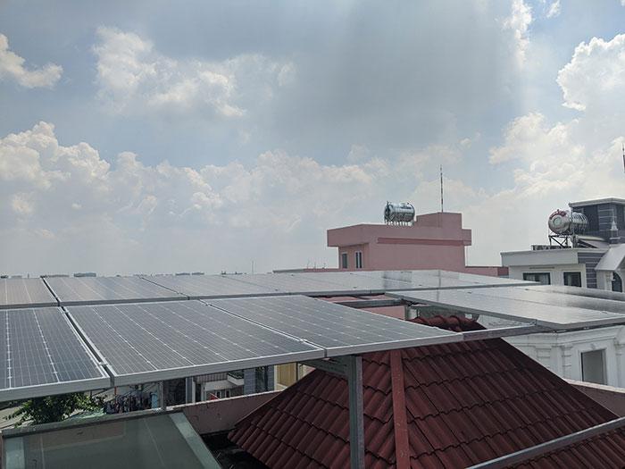 Lắp đặt điện mặt trời cho doanh nghiệp - Công ty Khánh Lộc 2