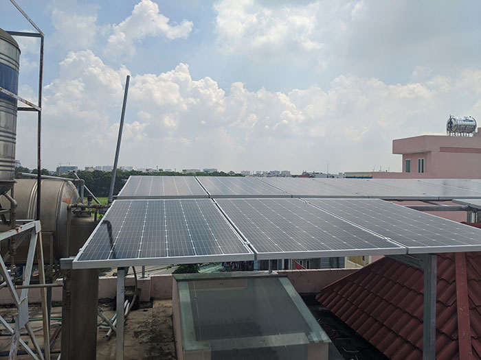 Lắp đặt điện mặt trời cho doanh nghiệp - Công ty Khánh Lộc 3