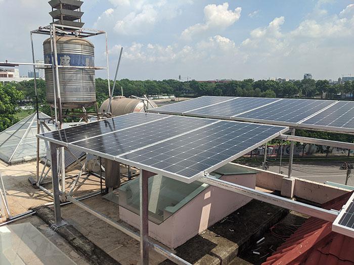 Lắp đặt điện mặt trời cho doanh nghiệp - Công ty Khánh Lộc 4