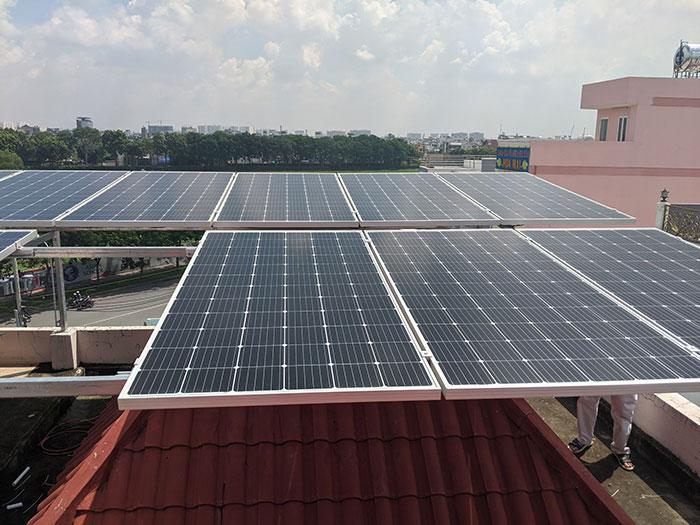 Lắp đặt điện mặt trời cho doanh nghiệp - Công ty Khánh Lộc 5