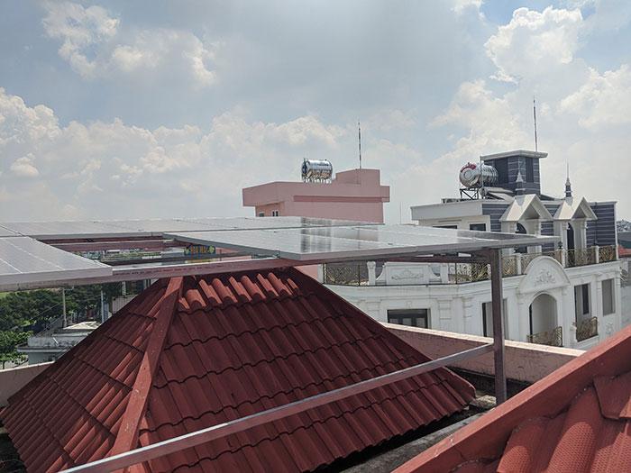 Lắp đặt điện mặt trời cho doanh nghiệp - Công ty Khánh Lộc 7