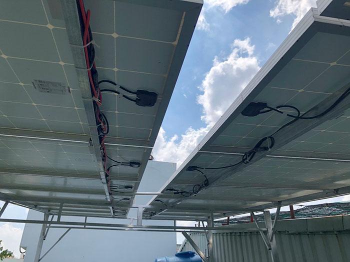 Lắp đặt Điện mặt trời Anh Trí ở Bình Thạnh 4