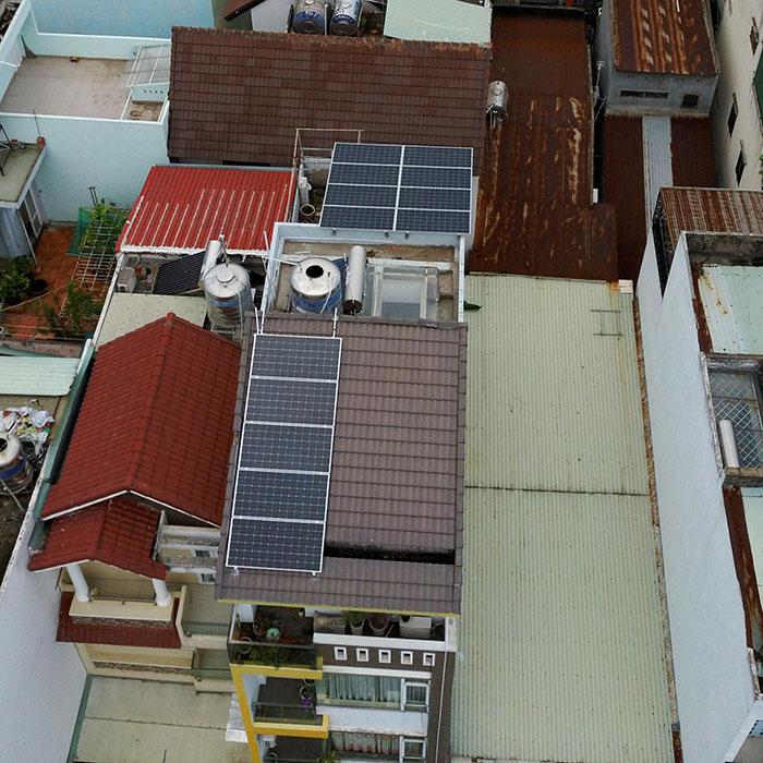 Lắp đặt hệ thống điện mặt trời hòa lưới 3 pha 5KWp cho anh Tuấn ở Gò Vấp 4