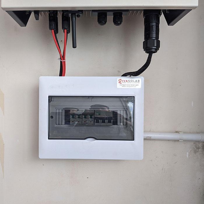 Lắp đặt hệ thống điện mặt trời hòa lưới 3 pha 5KWp cho anh Tuấn ở Gò Vấp 7