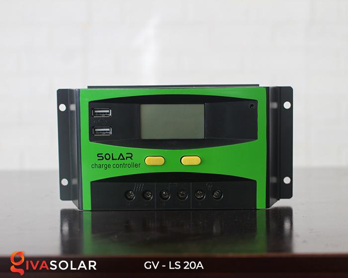 điều khiển sạc năng lượng mặt trời GV-LS-20A 1