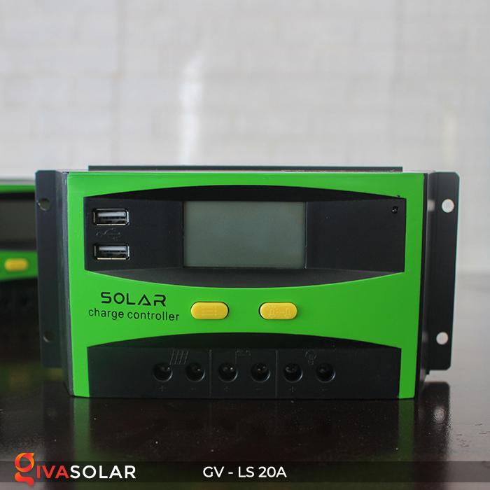 điều khiển sạc năng lượng mặt trời GV-LS-20A 10