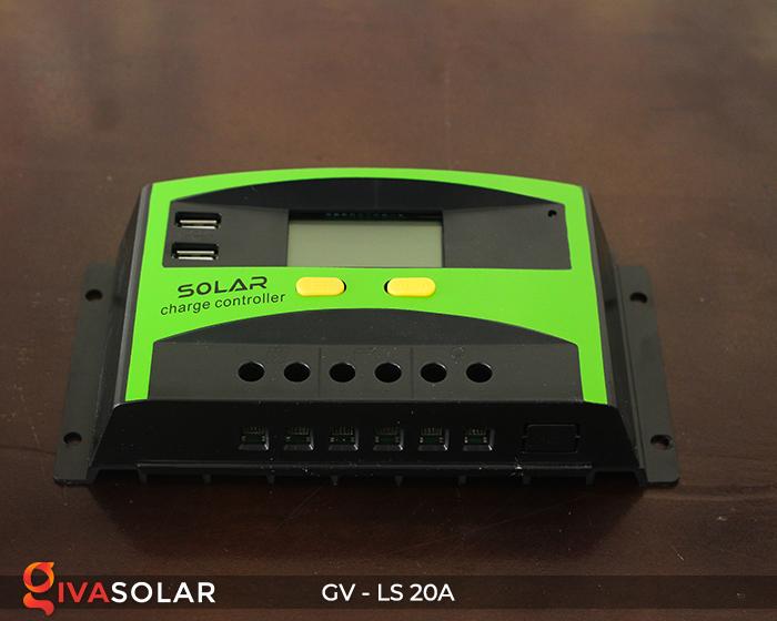 điều khiển sạc năng lượng mặt trời GV-LS-20A 3