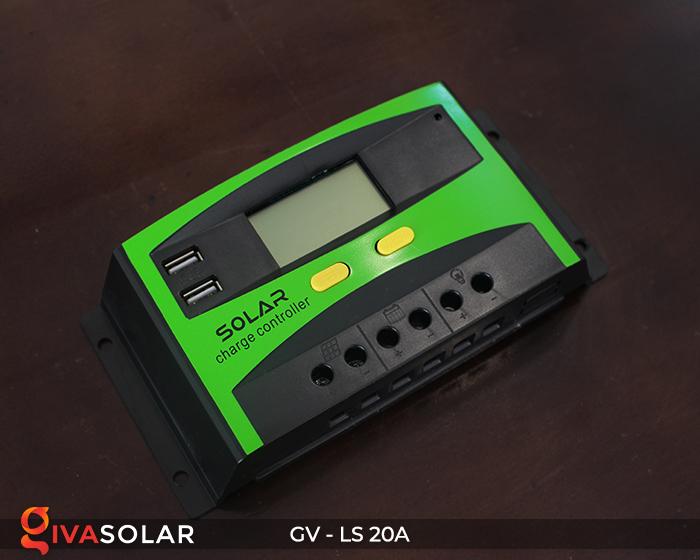 điều khiển sạc năng lượng mặt trời GV-LS-20A 5