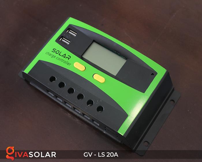 điều khiển sạc năng lượng mặt trời GV-LS-20A 6
