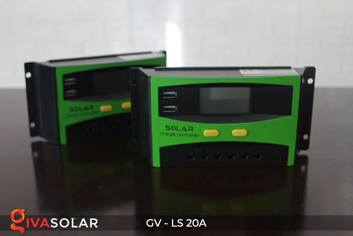 điều khiển sạc năng lượng mặt trời GV-LS-20A 8
