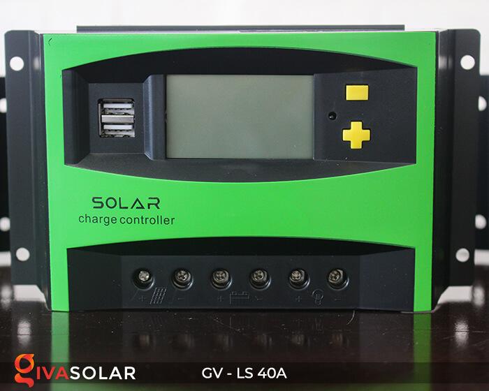 Mạch sạc pin năng lượng mặt trời GV-LS-40A 1