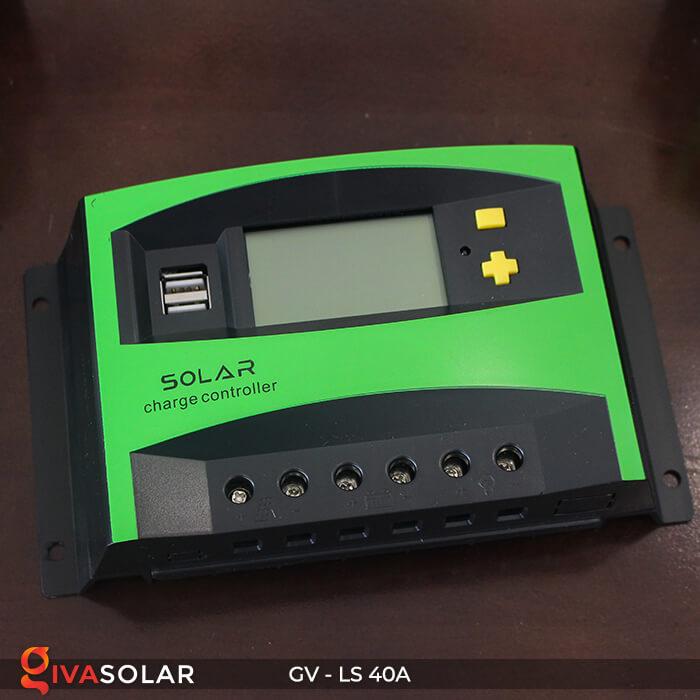 Mạch sạc pin năng lượng mặt trời GV-LS-40A 3