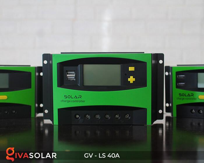 Mạch sạc pin năng lượng mặt trời GV-LS-40A 4