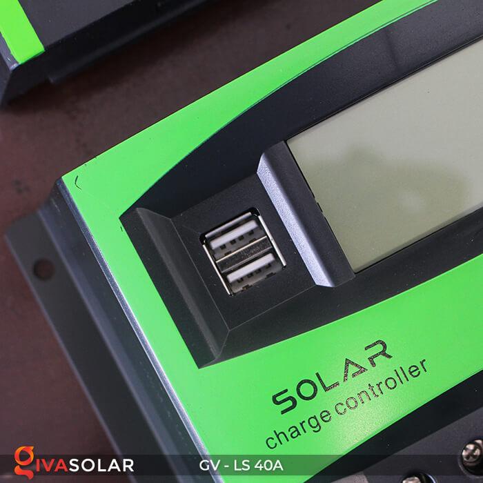 Mạch sạc pin năng lượng mặt trời GV-LS-40A 5