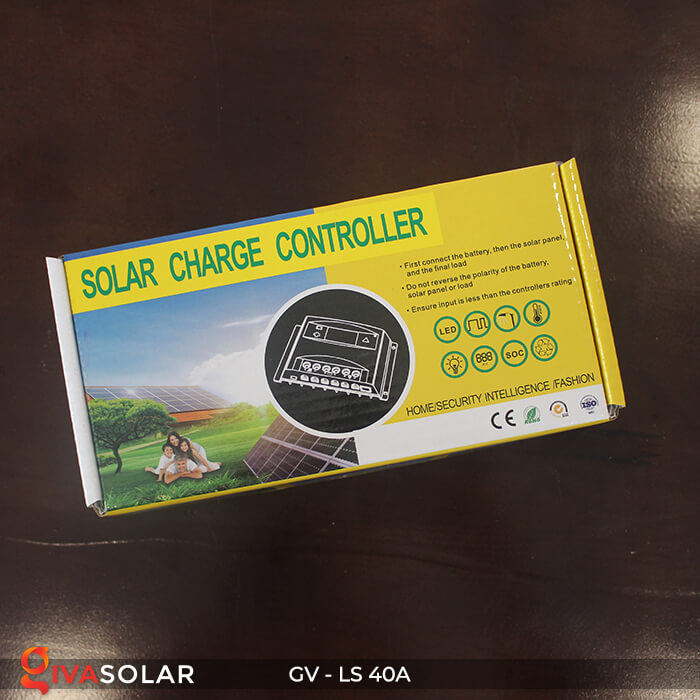 Mạch sạc pin năng lượng mặt trời GV-LS-40A 8