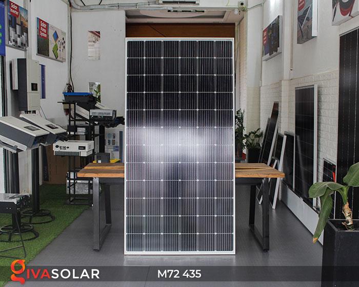 Pin năng lượng mặt trời công suất lớn MONO M72-435W 1