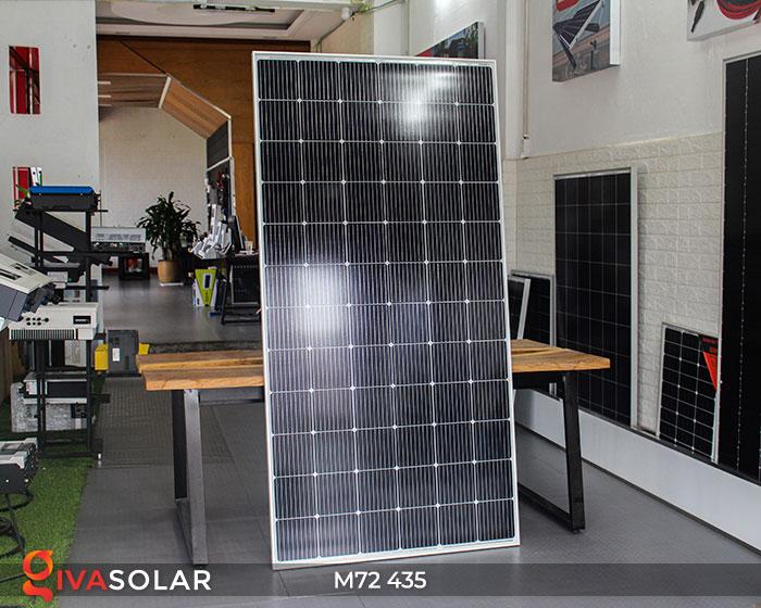 Pin năng lượng mặt trời công suất lớn MONO M72-435W 2