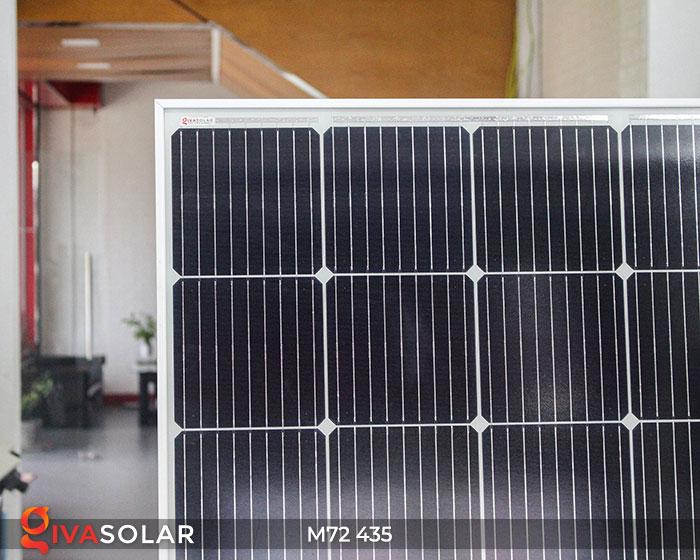 Pin năng lượng mặt trời công suất lớn MONO M72-435W 6