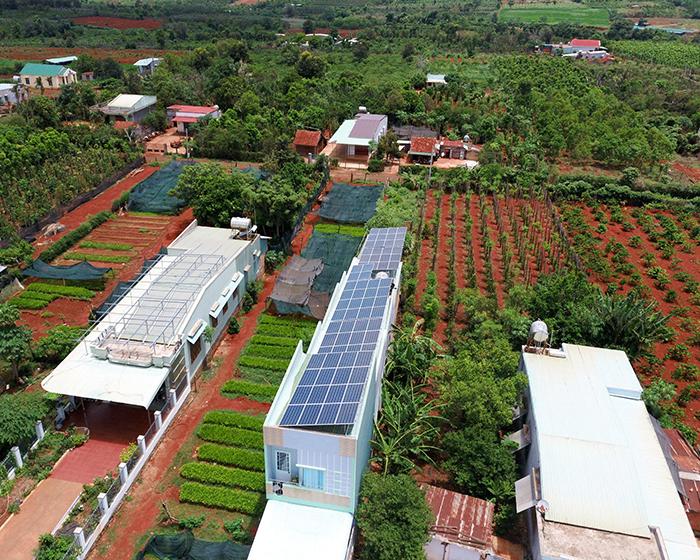 Thi công dự án điện năng lượng mặt trời hòa lưới 28KWP ở Gia Lai 13