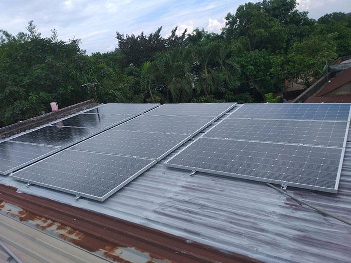 Thi công hệ thống hòa lưới điện mặt trời 4.4KW Anh Nam Củ Chi 2