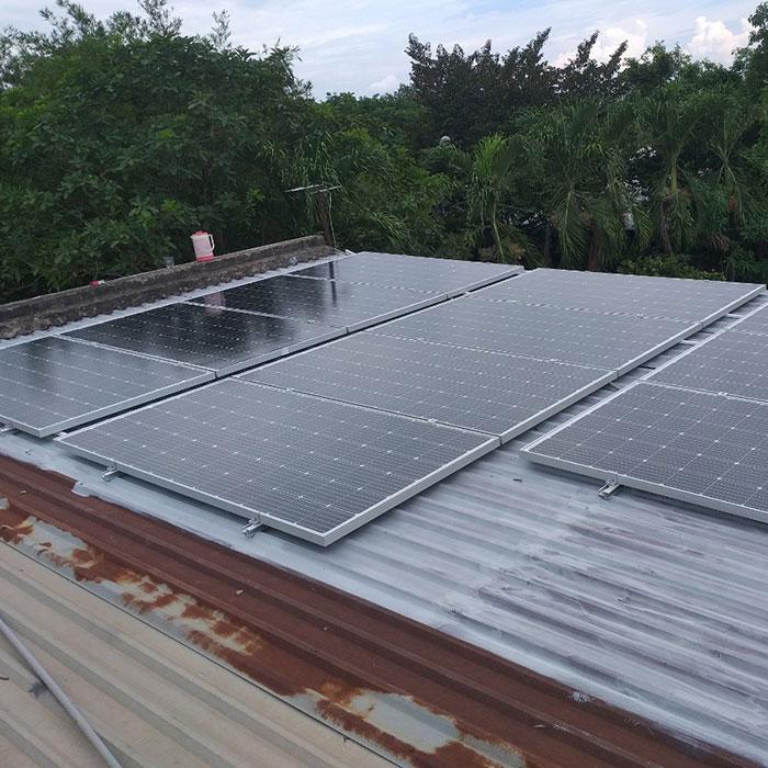 Thi công hệ thống hòa lưới điện mặt trời 4.4KW Anh Nam Củ Chi 3