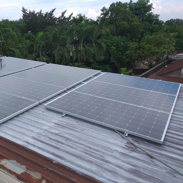Thi công hệ thống hòa lưới điện mặt trời 4.4KW Anh Nam Củ Chi 4