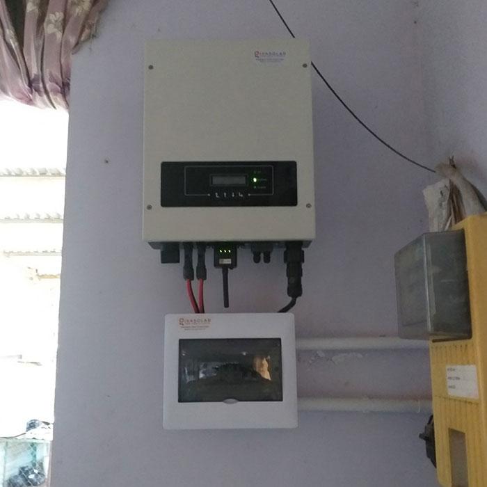 Thi công hệ thống hòa lưới điện mặt trời 4.4KW Anh Nam Củ Chi 5