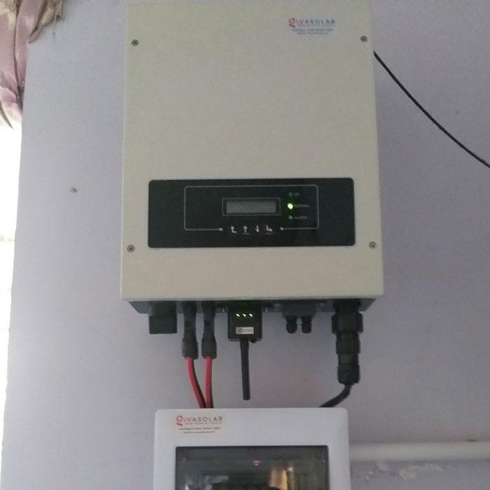 Thi công hệ thống hòa lưới điện mặt trời 4.4KW Anh Nam Củ Chi 6
