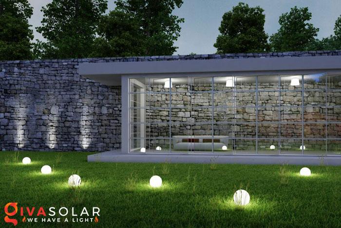 ý tưởng trang trí cảnh quan sân vườn thêm ấn tượng với đèn 1