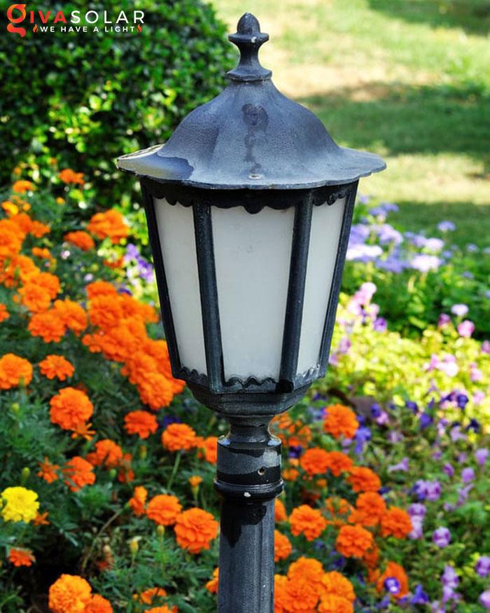 ý tưởng trang trí cảnh quan sân vườn thêm ấn tượng với đèn 13