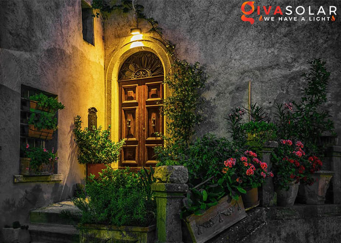 ý tưởng trang trí cảnh quan sân vườn thêm ấn tượng với đèn 17