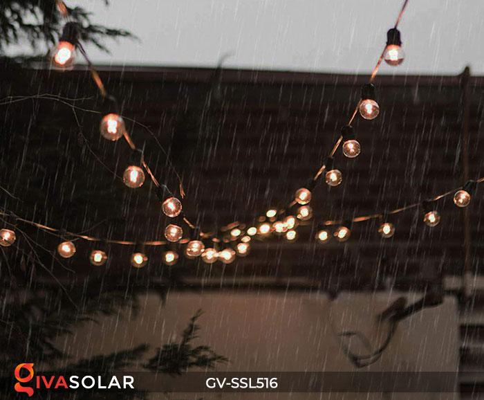 Dây đèn LED chiếu sáng năng lượng mặt trời G40 17