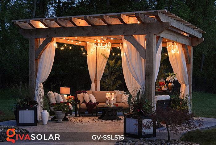 Dây đèn LED chiếu sáng năng lượng mặt trời G40 21