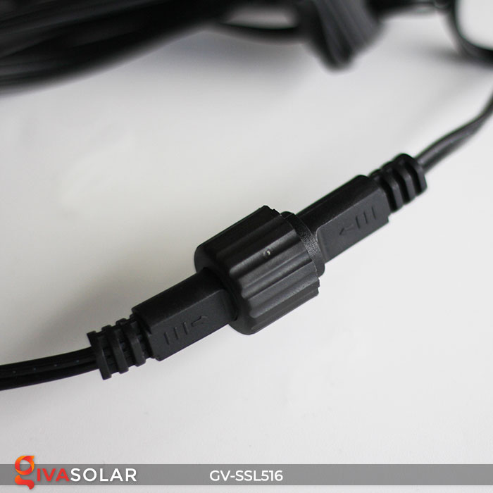 Dây đèn LED chiếu sáng năng lượng mặt trời G40 27