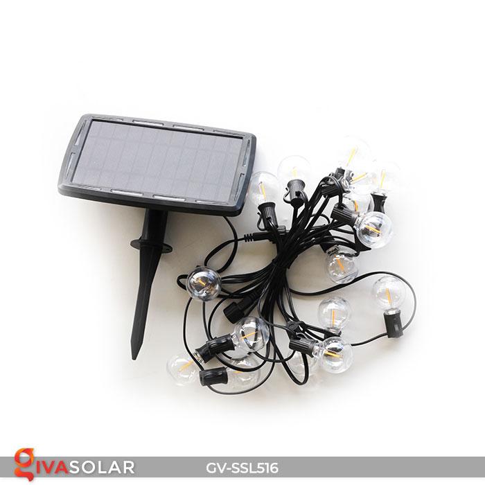 Dây đèn LED chiếu sáng năng lượng mặt trời G40 3