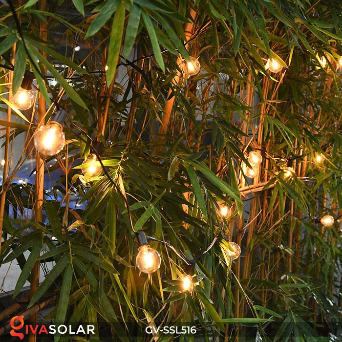 Dây đèn LED chiếu sáng năng lượng mặt trời G40 9