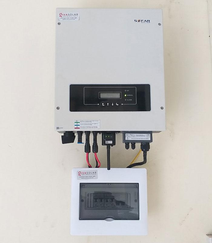 Dự án điện năng lượng mặt trời áp mái 9KW cho anh Hưng ở Tân Phú 6