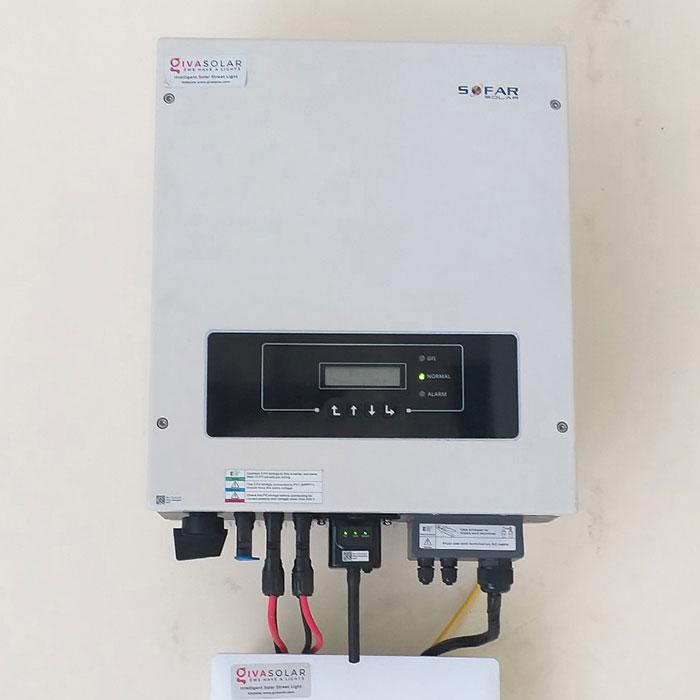Dự án điện năng lượng mặt trời áp mái 9KW cho anh Hưng ở Tân Phú 7
