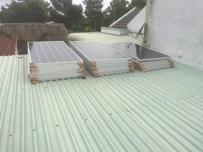 điện mặt trời hòa lưới 12KW cho anh Hiếu ở bà rịa vũng tàu 3