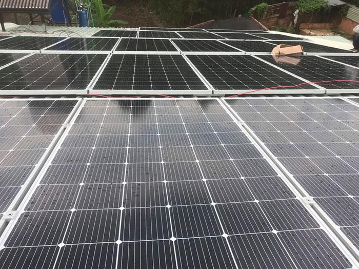 điện mặt trời hòa lưới 12KW cho anh Hiếu ở bà rịa vũng tàu 4