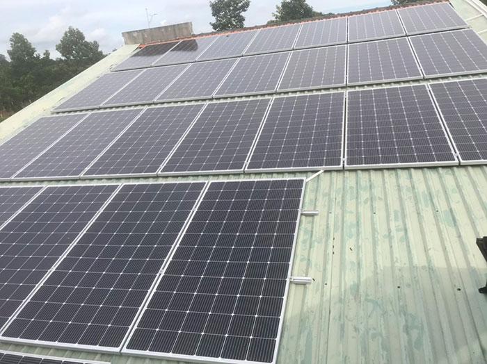 điện mặt trời hòa lưới 12KW cho anh Hiếu ở bà rịa vũng tàu 5