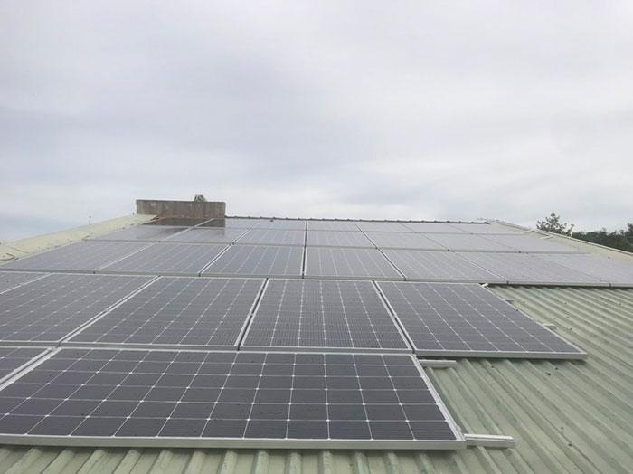 điện mặt trời hòa lưới 12KW cho anh Hiếu ở bà rịa vũng tàu 6