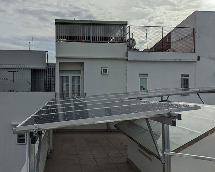 Dự án điện mặt trời hòa lưới áp mái 5KWP Chị Quỳnh ở Quận 9 3