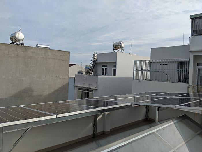 Dự án điện mặt trời hòa lưới áp mái 5KWP Chị Quỳnh ở Quận 9 5
