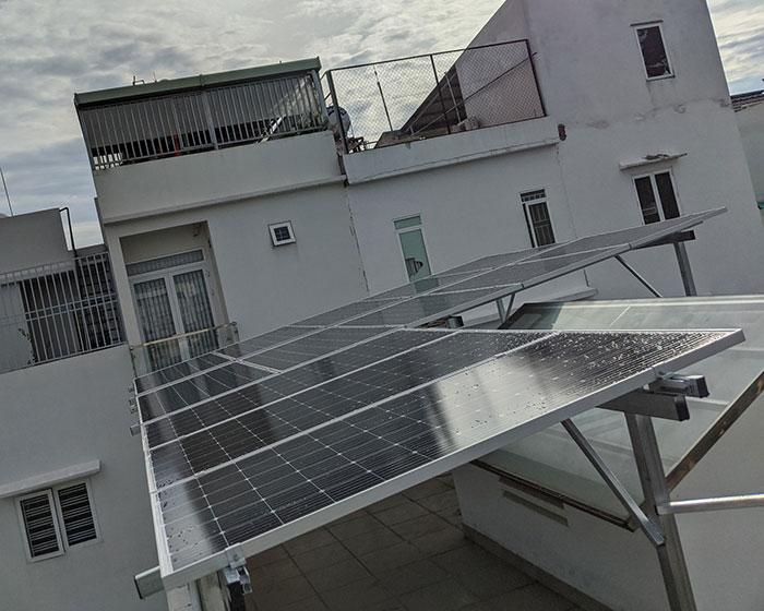 Dự án điện mặt trời hòa lưới áp mái 5KWP Chị Quỳnh ở Quận 9 6