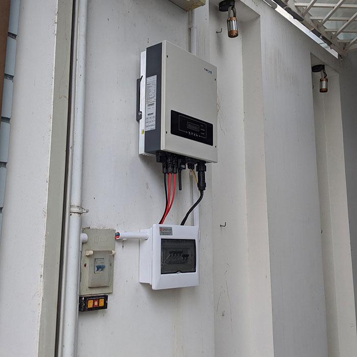 Dự án điện mặt trời hòa lưới áp mái 5KWP Chị Quỳnh ở Quận 9 7
